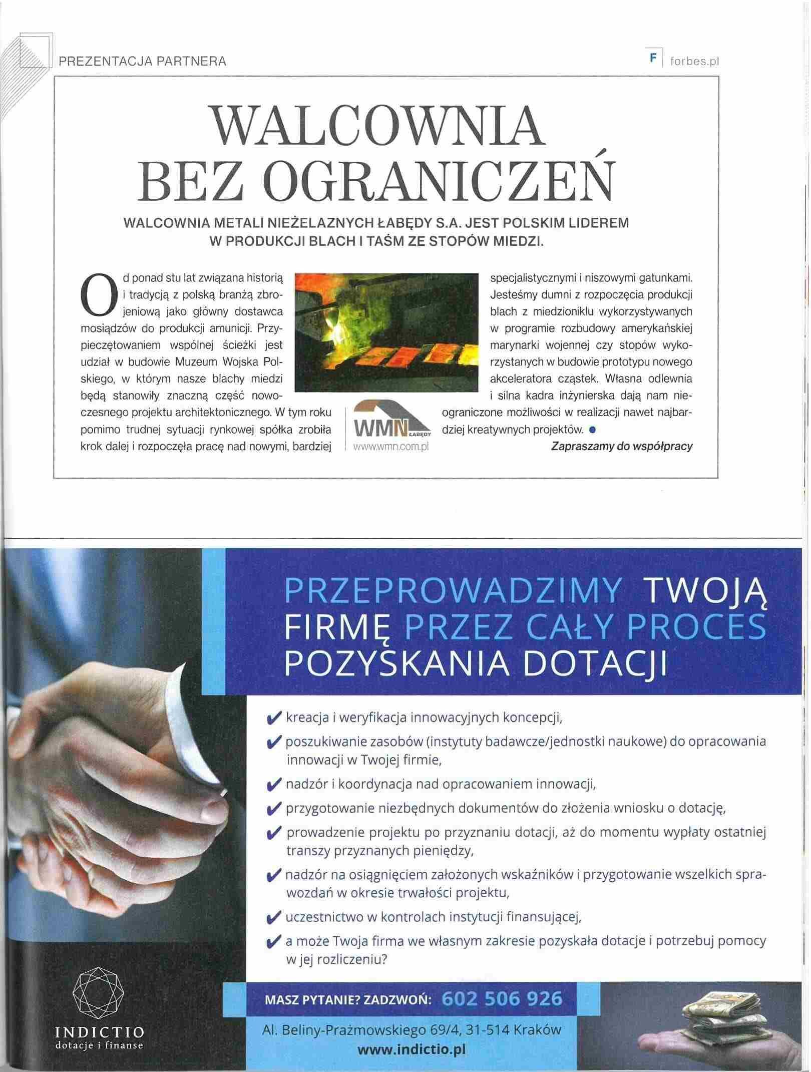 Publikacja WMN Forbs
